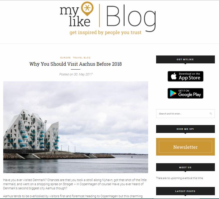myLike Blog
