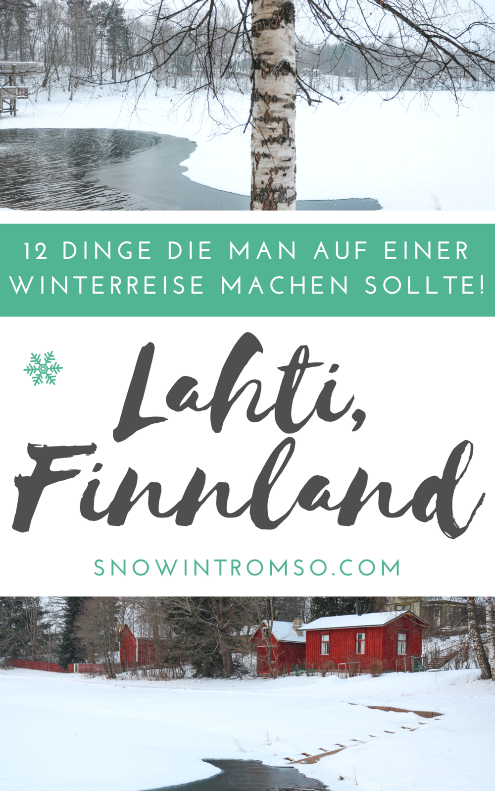 Planst Du eine Reise nach Lahti in Südfinnland im Winter? Hier sind 12 Dinge die Du unbedingt erleben solltest!