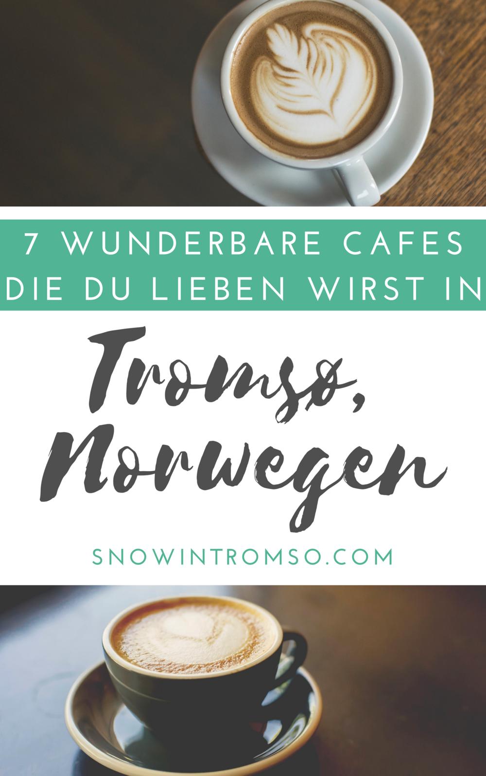 Planst Du eine Reise nach Tromsø? Dort gibt's nicht nur Nordlichter sondern auch jede Menge uriger Cafes! Lies den ganzen Artikel hier!
