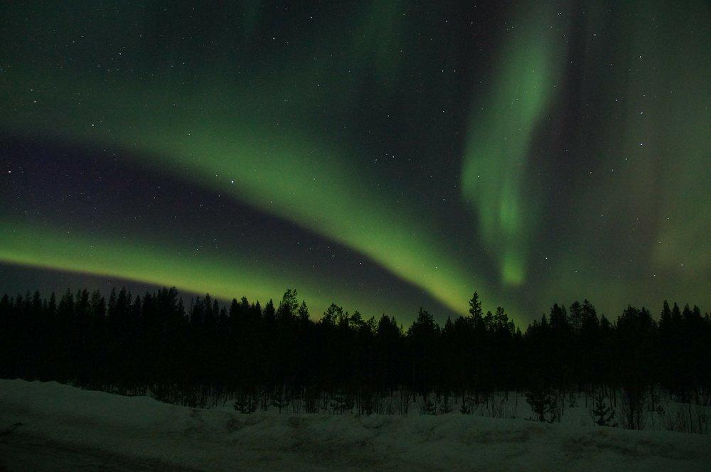 aurora borealis lapland
