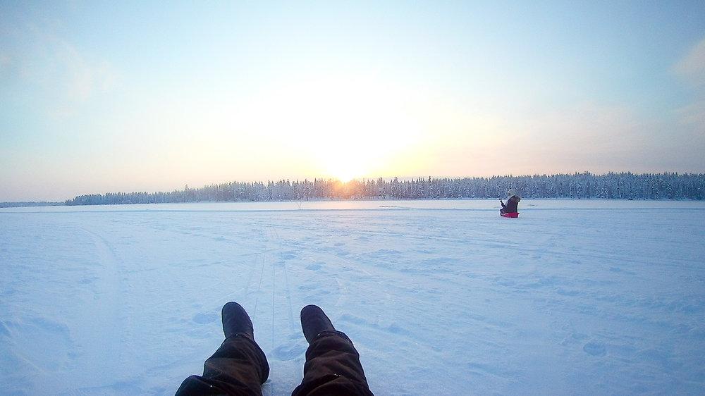 winter abenteuer finnisch lappland kuusamo