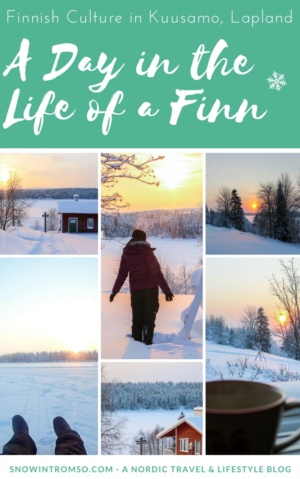 "Would you like to learn more about Finnish culture? Learn how you can spend a ""day as a Finn"" in Lapland in this article!"
