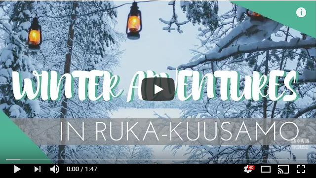 winter adventures in ruka kuusamo finland