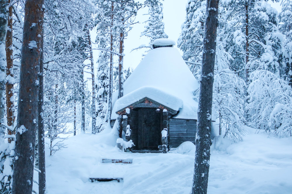 cabin holiday finnish lapland