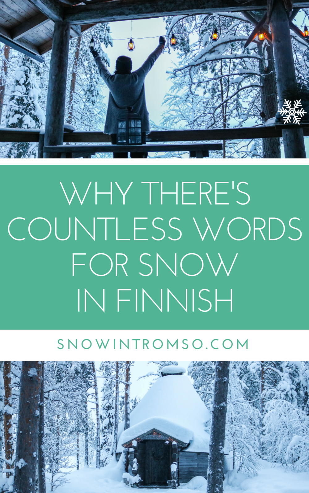 Why there's countless words for snow in Finland - and where you can find the cabin of your dreams. Click through to read the article!