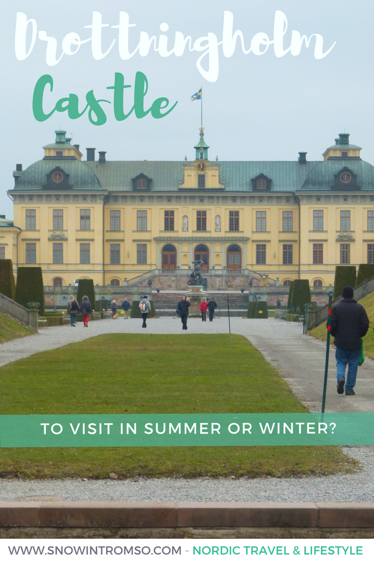 Click through to find out what it's like to visit Drottningholm Castle in Stockholm - no matter the season!