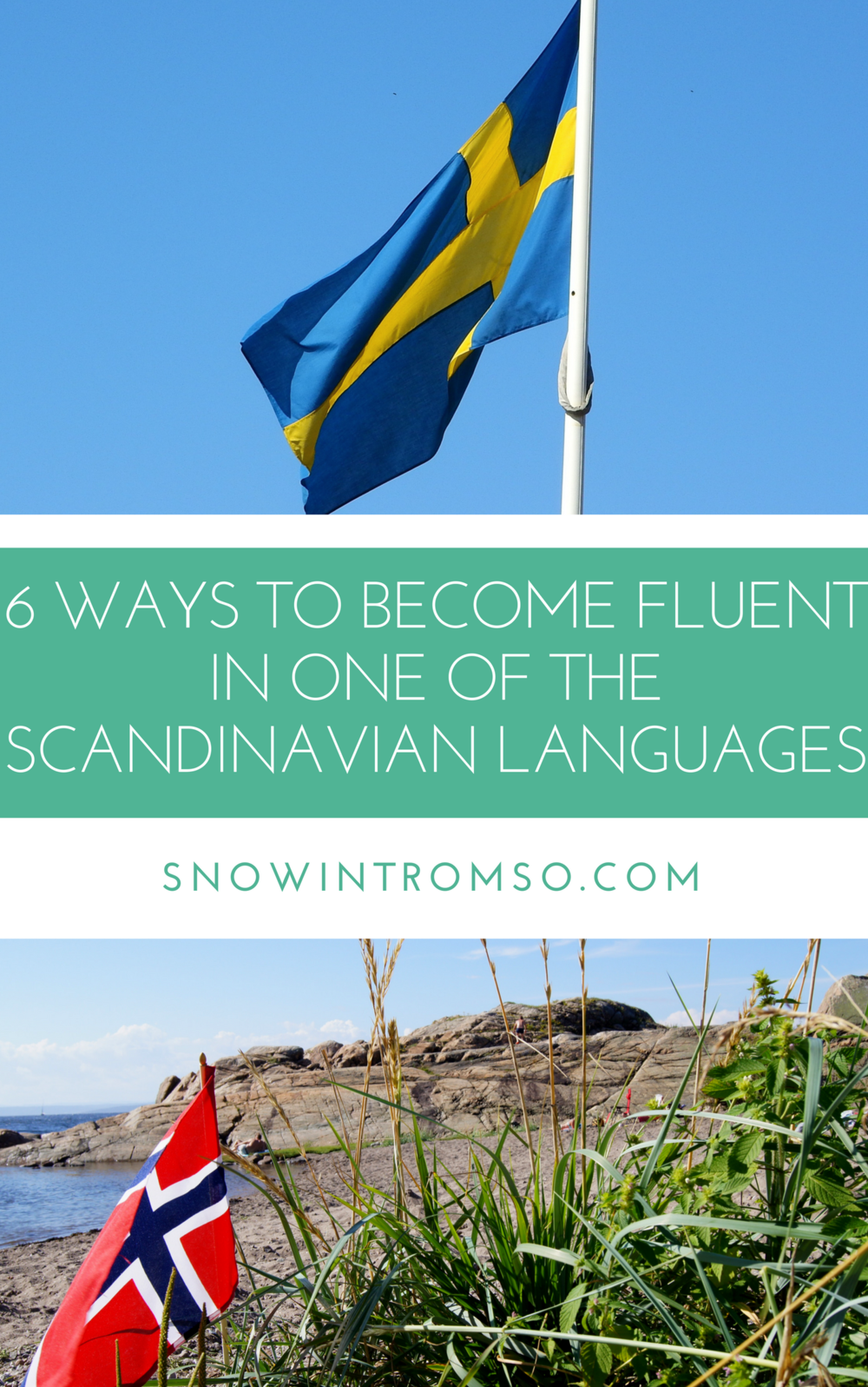 Are you dreaming of a life in Scandinavia? Click through to find out how you can easily learn Swedish, Norwegian or Danish before moving!