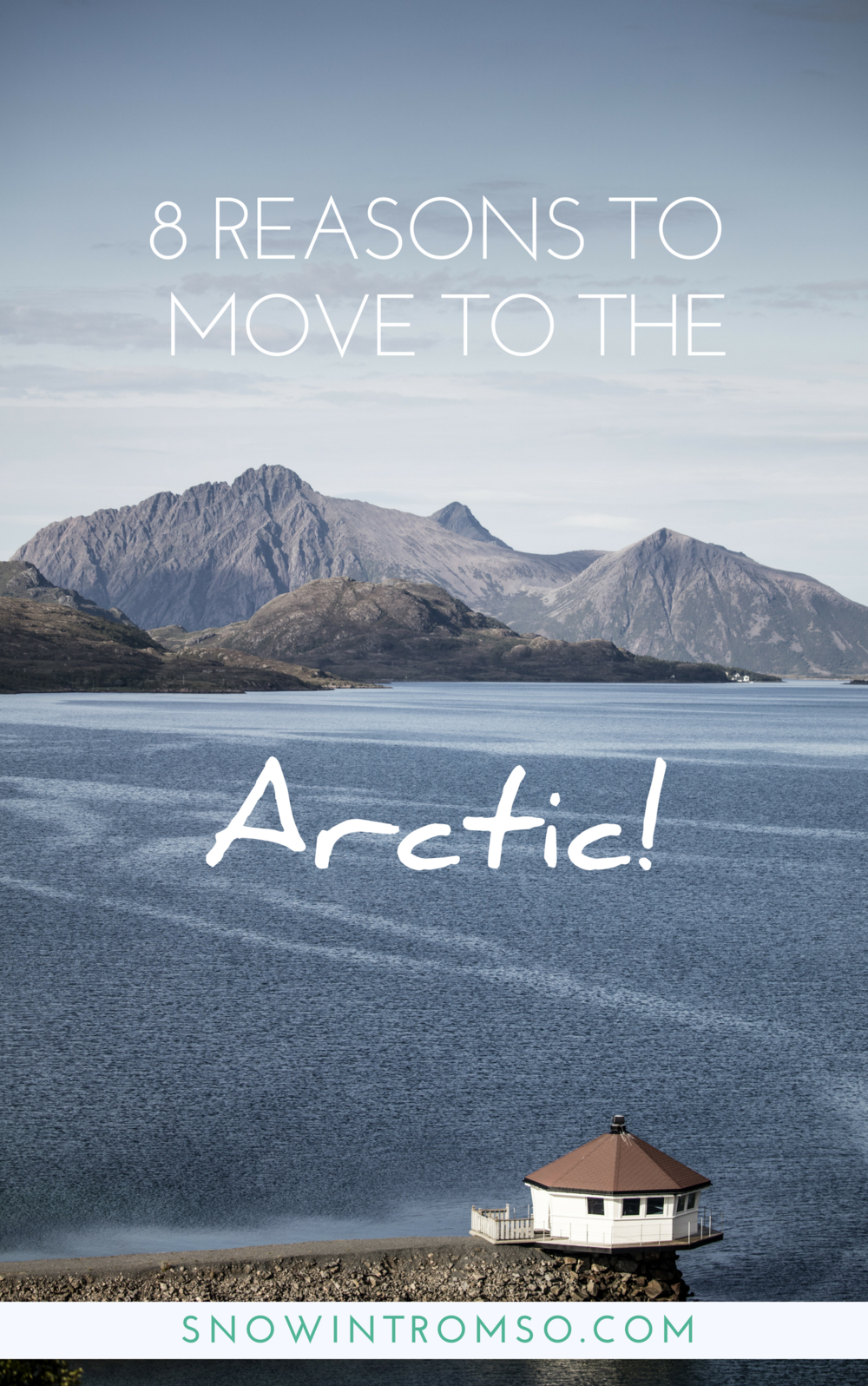 Click through to find out why you should move to the Arctic!