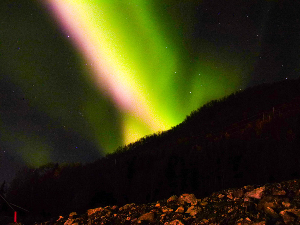 tromso northern lights