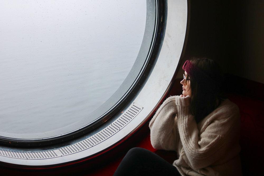 onboard fjordline stavanger to bergen