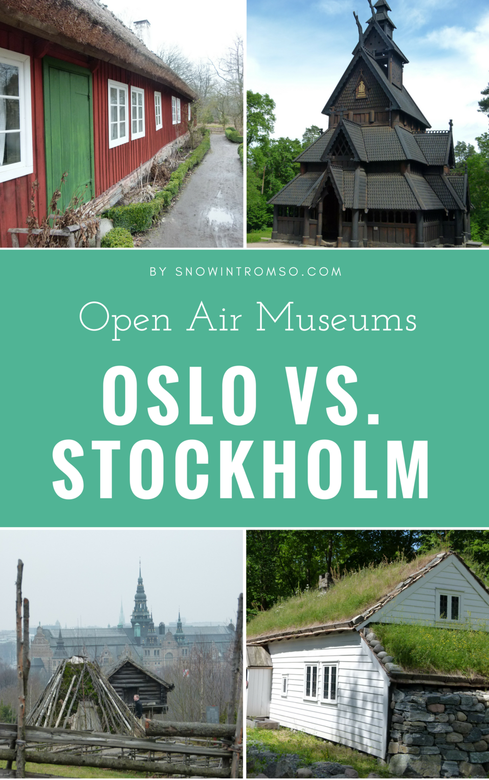 Same same but different? Click through to see which open-air museum you should visit when spending the summer in Scandinavia!