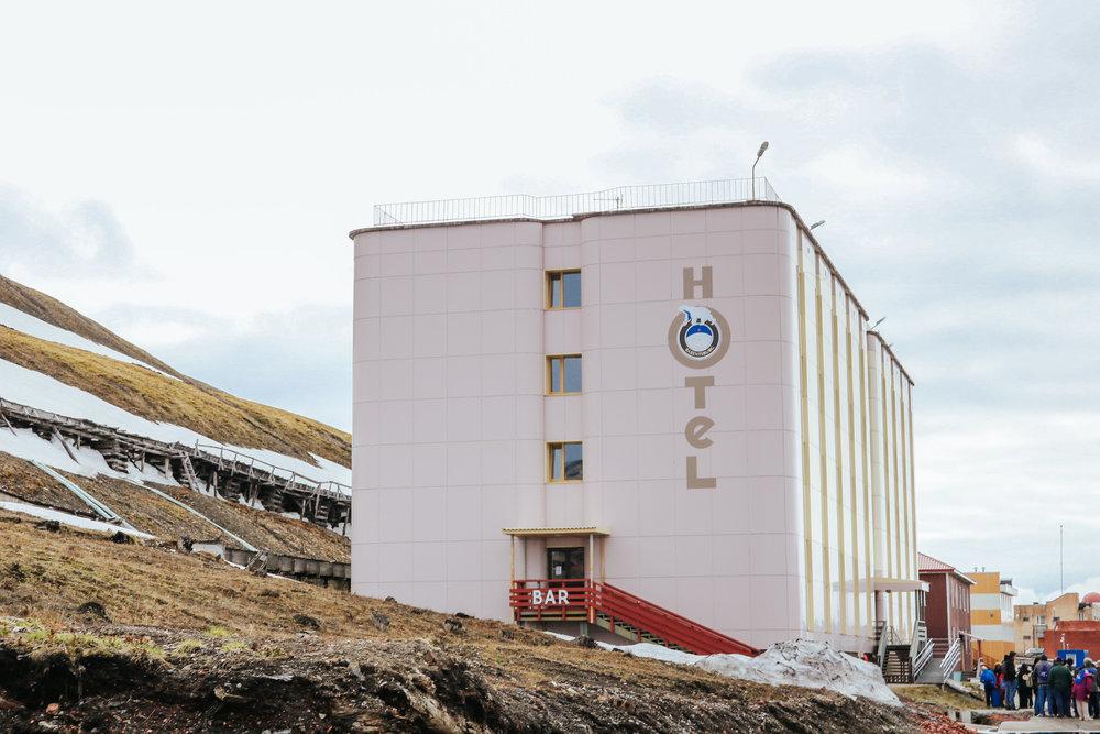 hotel barentsburg spitzbergen