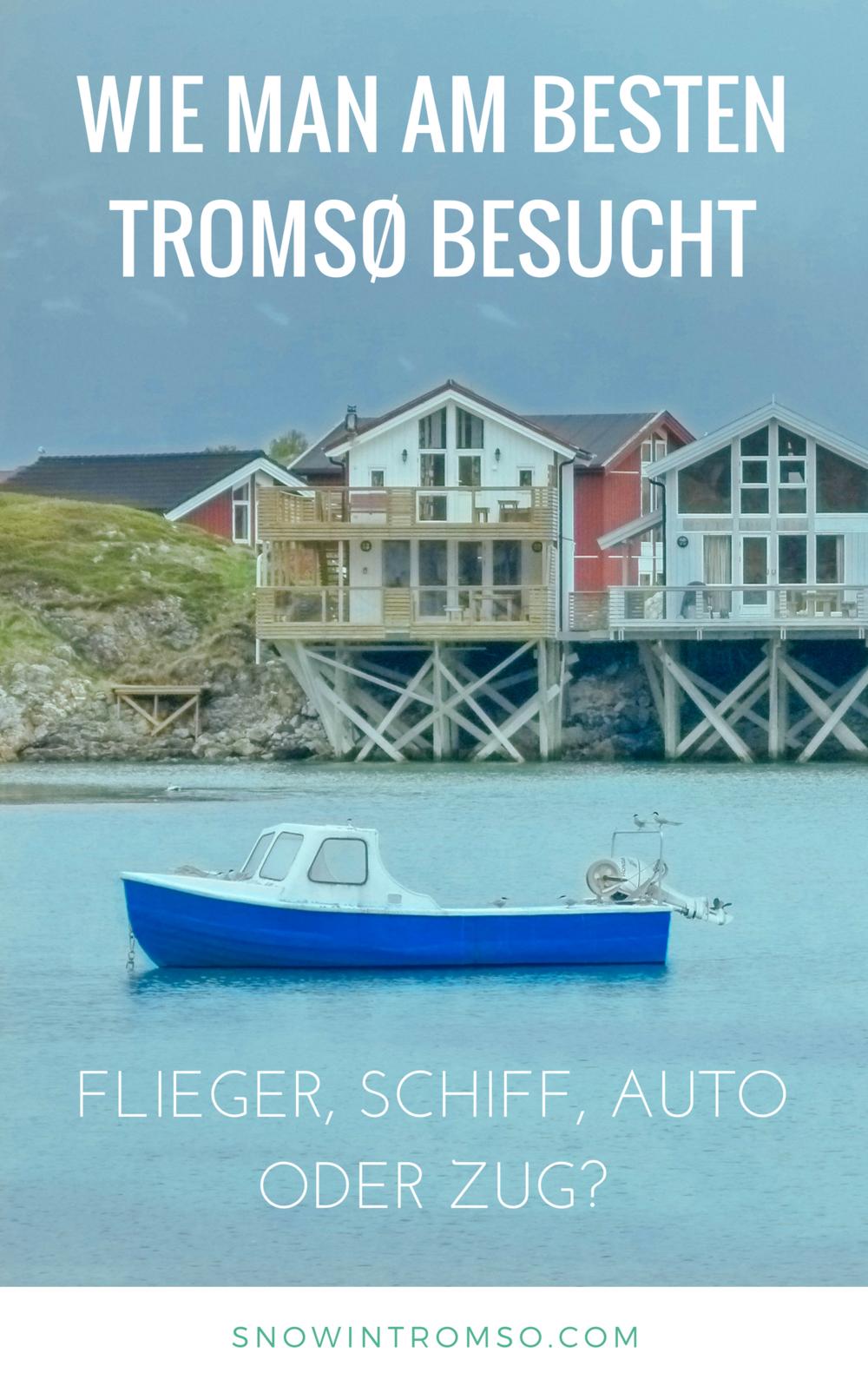 Es gibt insgesamt 5 Anreisemöglichkeiten nach Tromsø,die ich Dir in diesem Artikel, zusammen mit allen Vor- und Nachteilen vorstellen möchte!