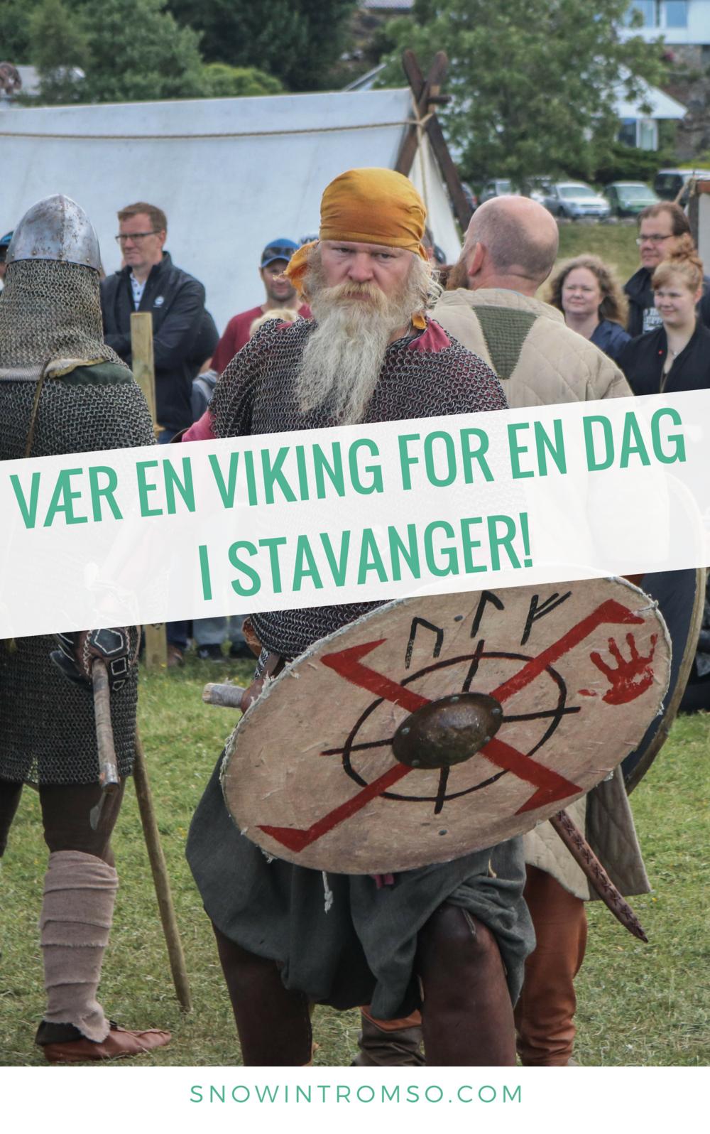 Følg meg på vikingemarkedet på Hafrsfjord i Stavanger, for å se hvordan de ekte vikingene var!