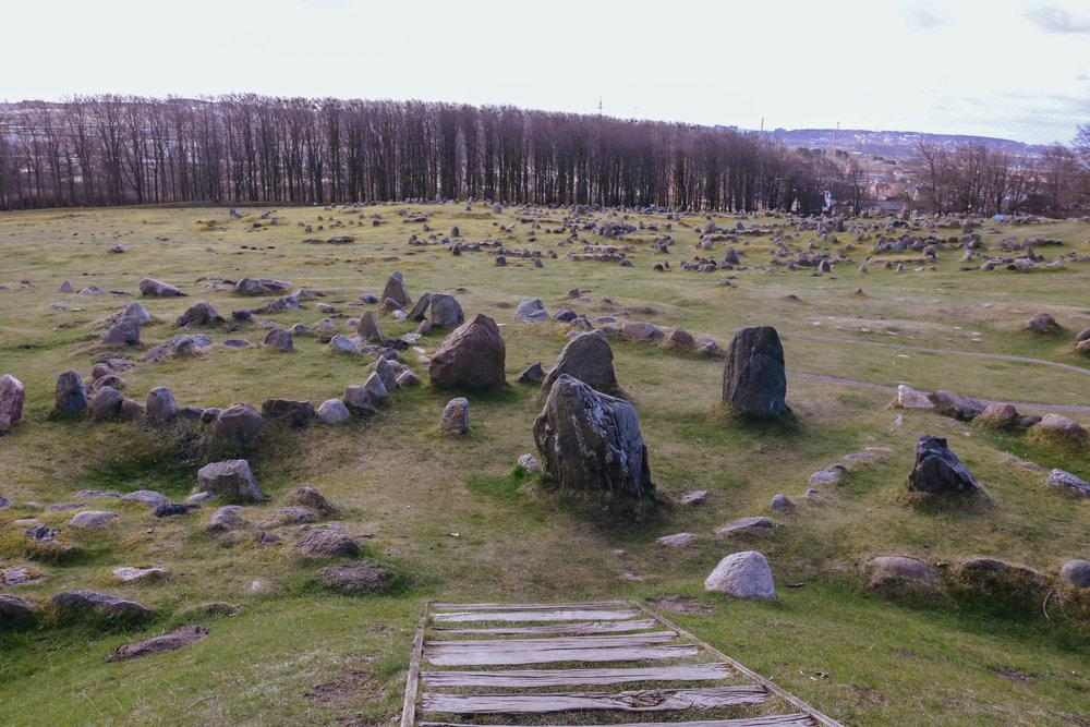 lindholm høje gravhauger aalborg