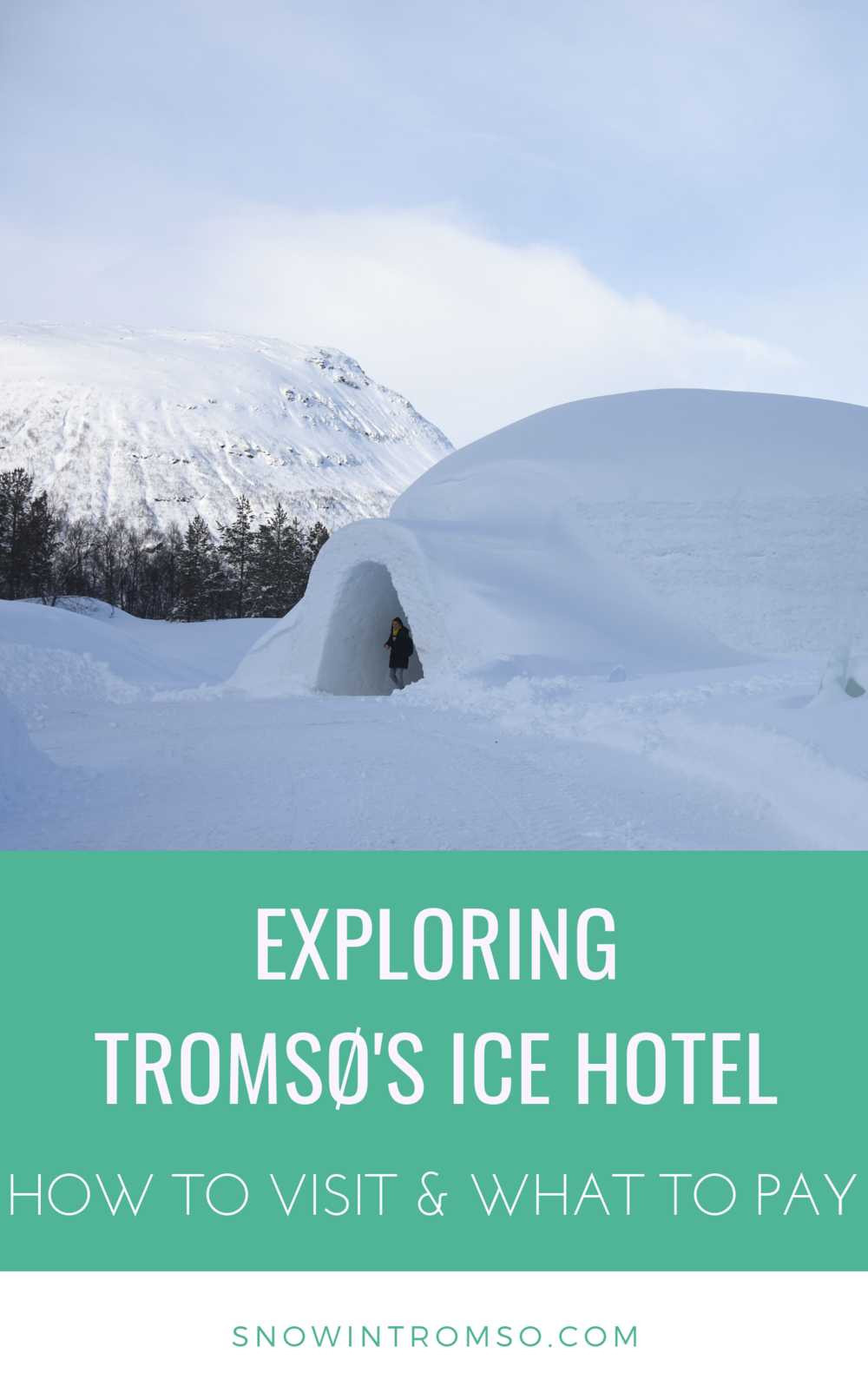 All you need to know about visiting and staying in the Tromsø Ice Domes - just a click away!