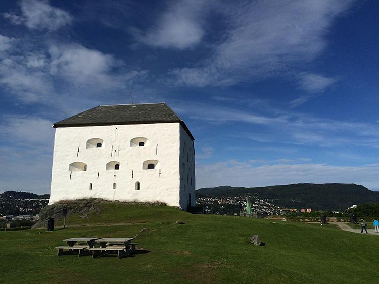 kristiansten fortress trondheim norway