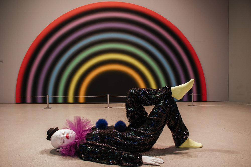 arken museum of modern art copenhagen clowns exhibit.jpg