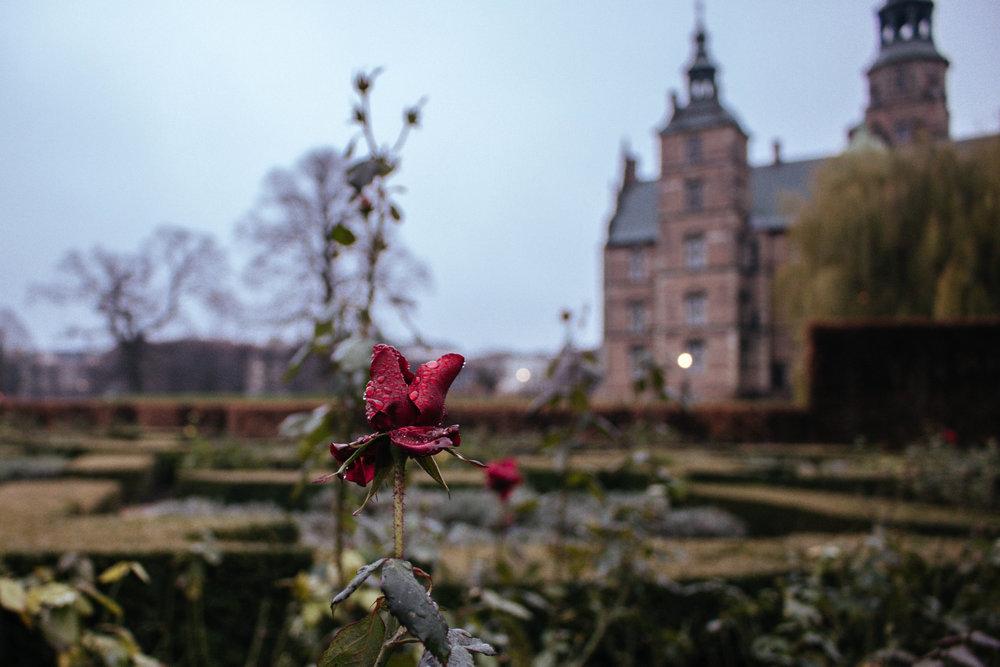 visit rosenborg castle in winter