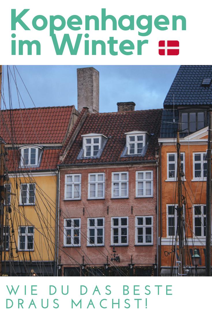 Planst du im Winter nach Kopenhagen zu reisen? Lies den Artikel und finde heraus wie du das Beste aus deinem Aufenthalt in Dänemark's Hauptstadt machen kannst, auch wenn es grau und verregnet ist!