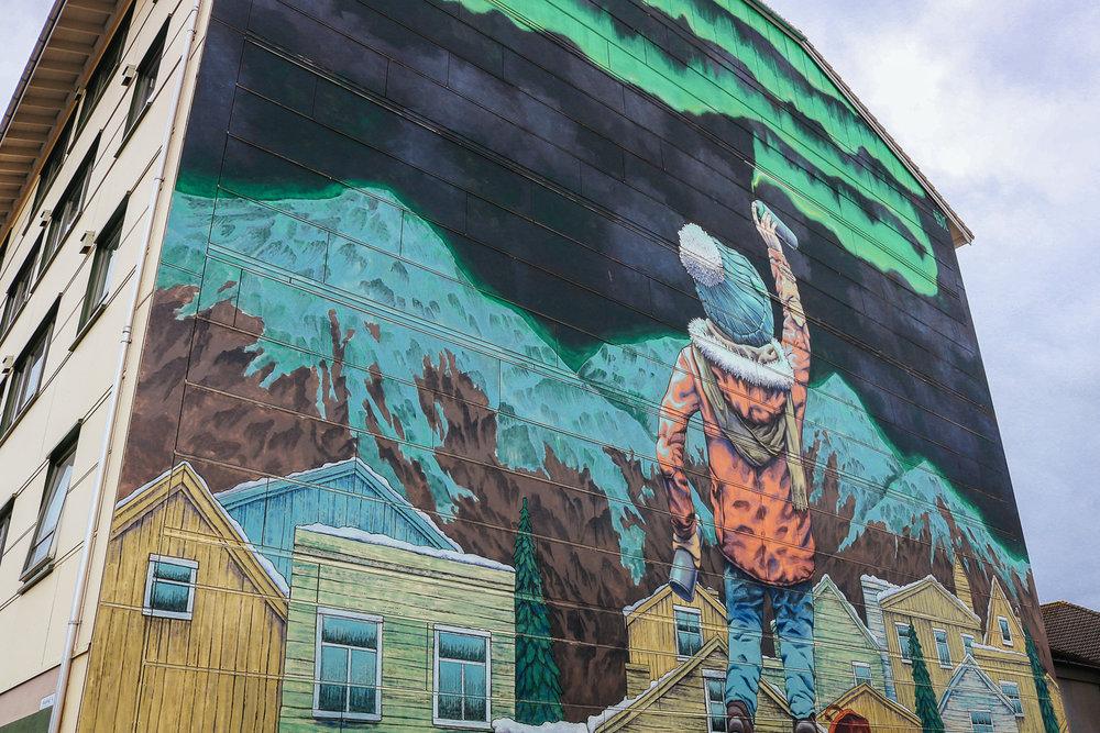 street art in bodø