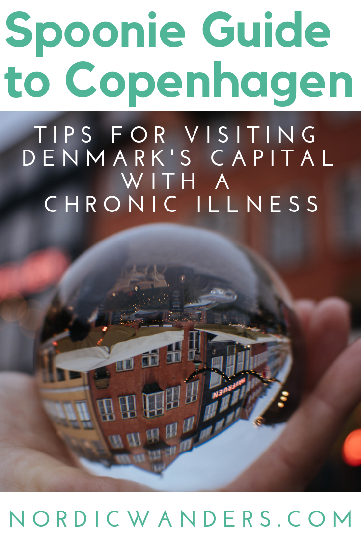 Visiting Copenhagen with a chronic illness? Click through to read the entire spoonie travel guide to Denmark's capital!