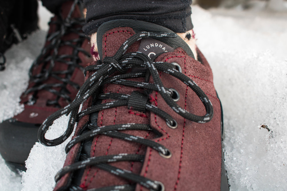 lundhags bjerg low hiking shoes test.