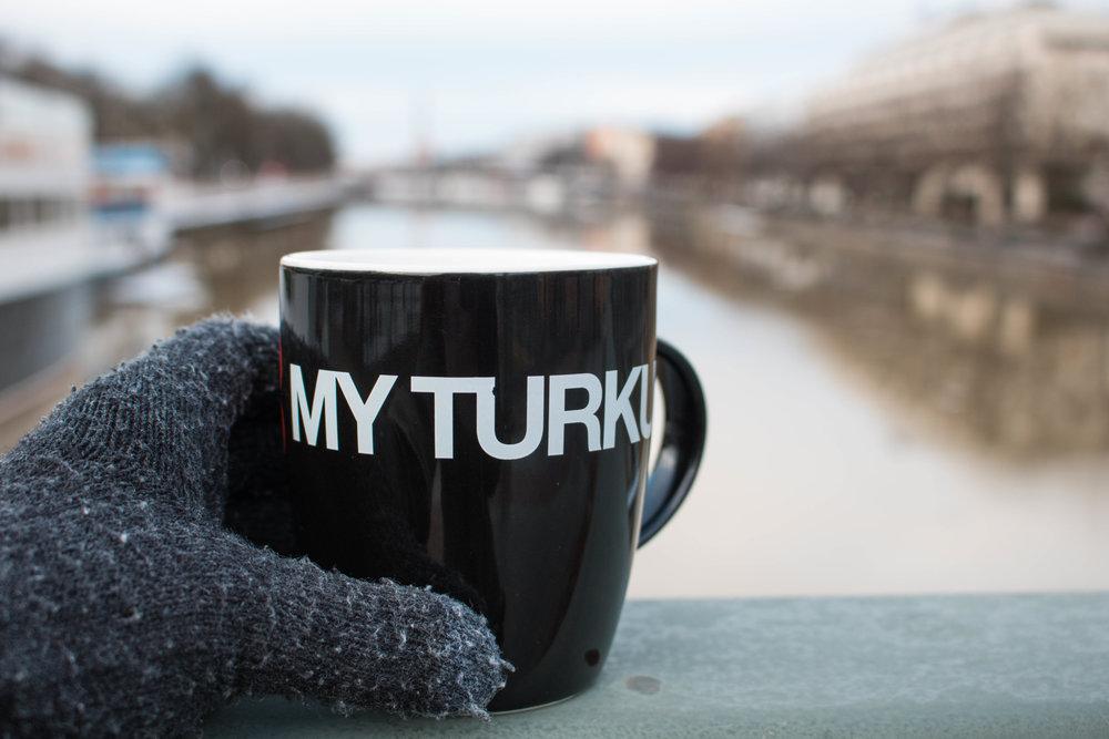 river aura turku finland