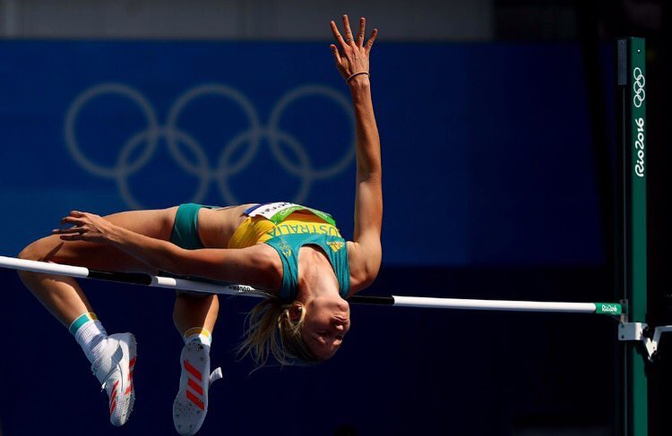 Eleanor Patteron, mid-high jump at the Rio Olympics 2016