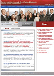 Gordon, Edelstein, Krepack, Grant, Felton & Goldstein is an award-winning law firm in Los Angeles