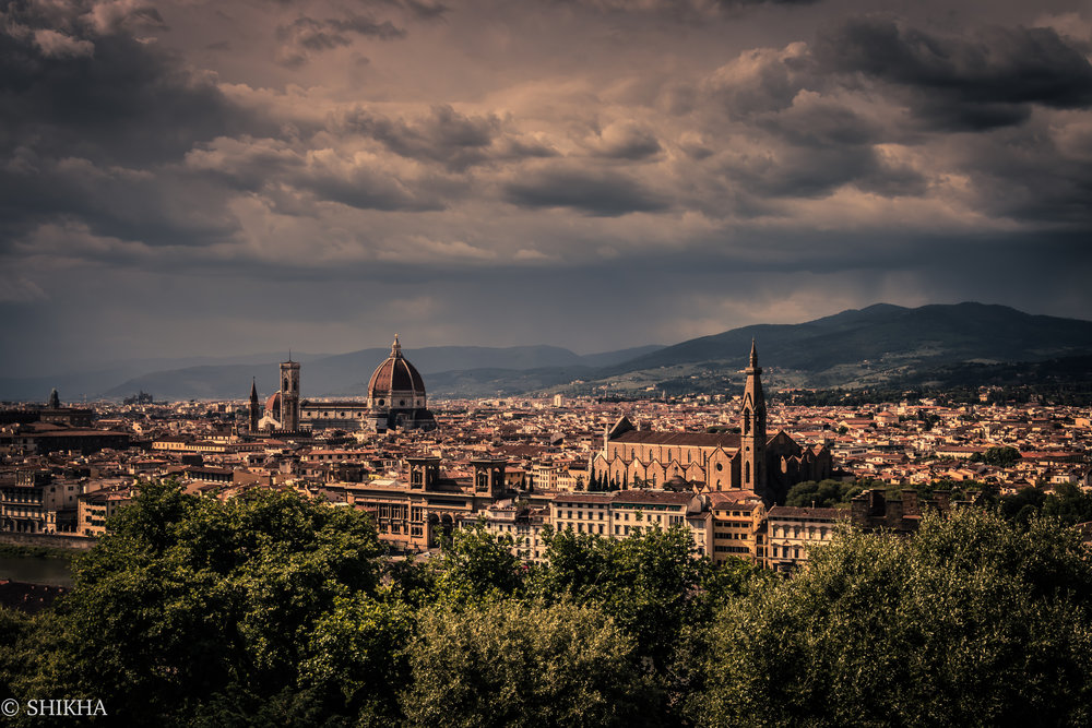 Florence, what a beauty you are!