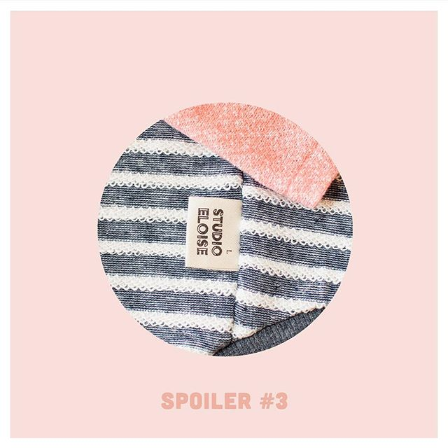 Spoiler no.3🎉 what do you see? 🔸new Studio Eloise tag with size written on it 🔸the cutest new fabric (imported from Japan, we couldn't resist those terry stripes. Those loops look like little scalloped edge lace 😍) 🔸 Coral pink hoodie!! . . . . . #StudioEloise #madeinnyc #petfashion #dogfashion #dogsinclothes #fashiondog #fashionpet #dogclothing #dogclothes #dogapparel #doghoodie #dogsinsweaters #locallymade #dogsofnyc #nycdogs  #buzzfeedanimals #poshpamperedpets #dogfessional #dogmodel #furbaby #smalldog #tinydog #thinkpink #onwednesdayswewearpink #prettyinpink
