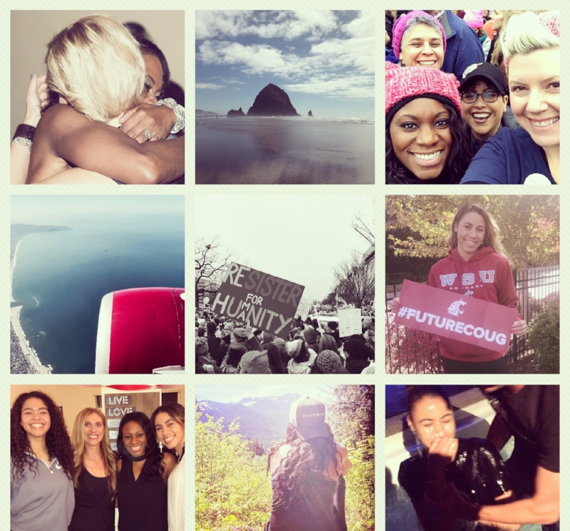 """I had many amazing moments of 2017 but these are a few powerful """"best of nine"""" moments in 2017."""