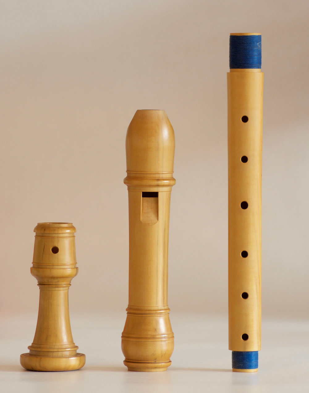 Treble recorder after Thomas Stanesby Senior by Marco Magalhães