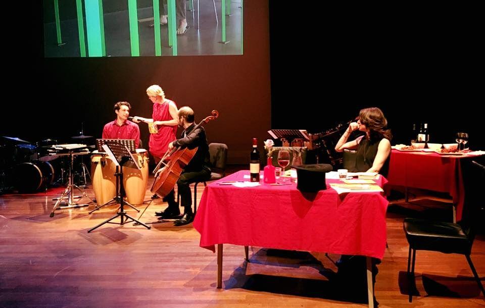 Meet the composer in Lux Nijmegen with Stine Jensen, Marijn Korf de Gidts and Antonis Pratsinakis.