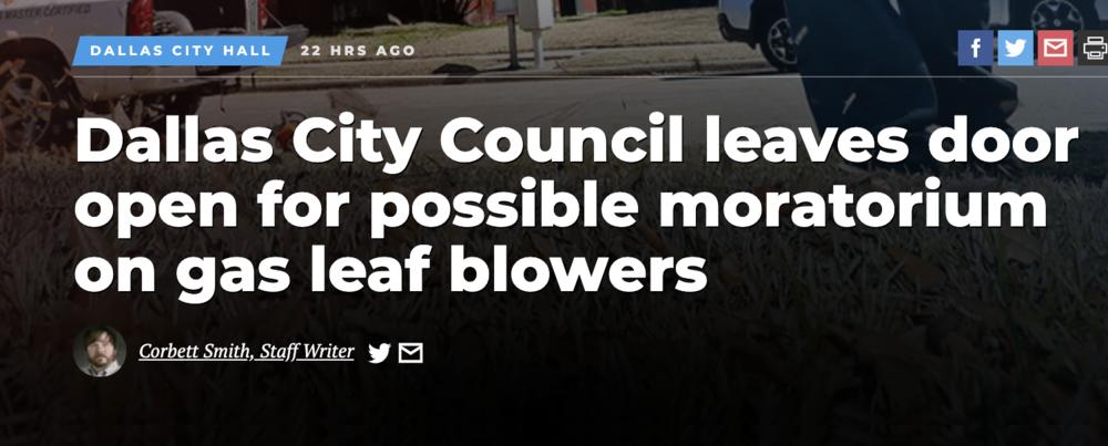 Headline from  DallasNews.com  .