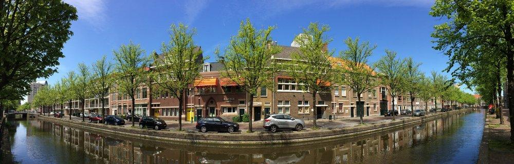 The Hague, minus leaf blowers (Vincent van Zeijst,  Wikimedia Commons )