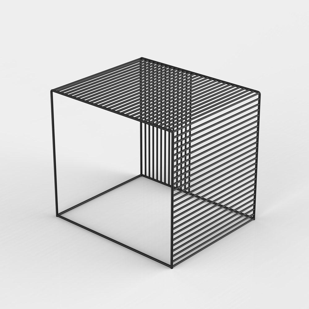 Exceptionnel Wire Side Table