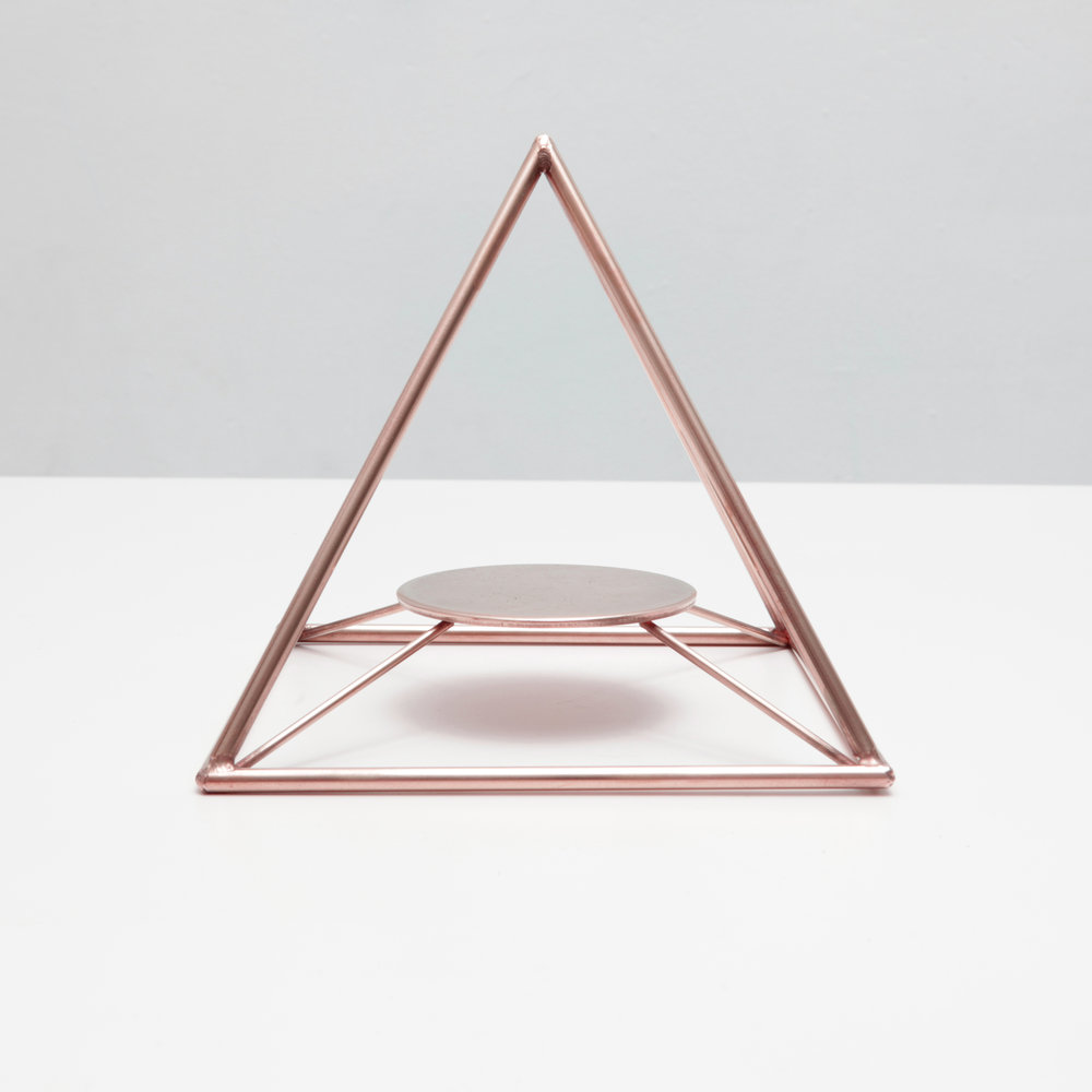Sage Pyramid / Copper