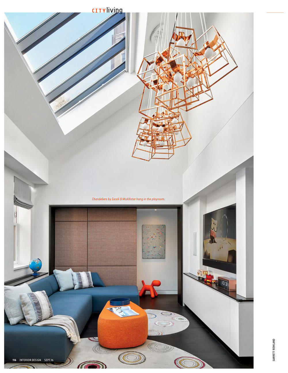 Design by Damon Liss Design / Photo by Garrett Rowland for Interior Design Magazine