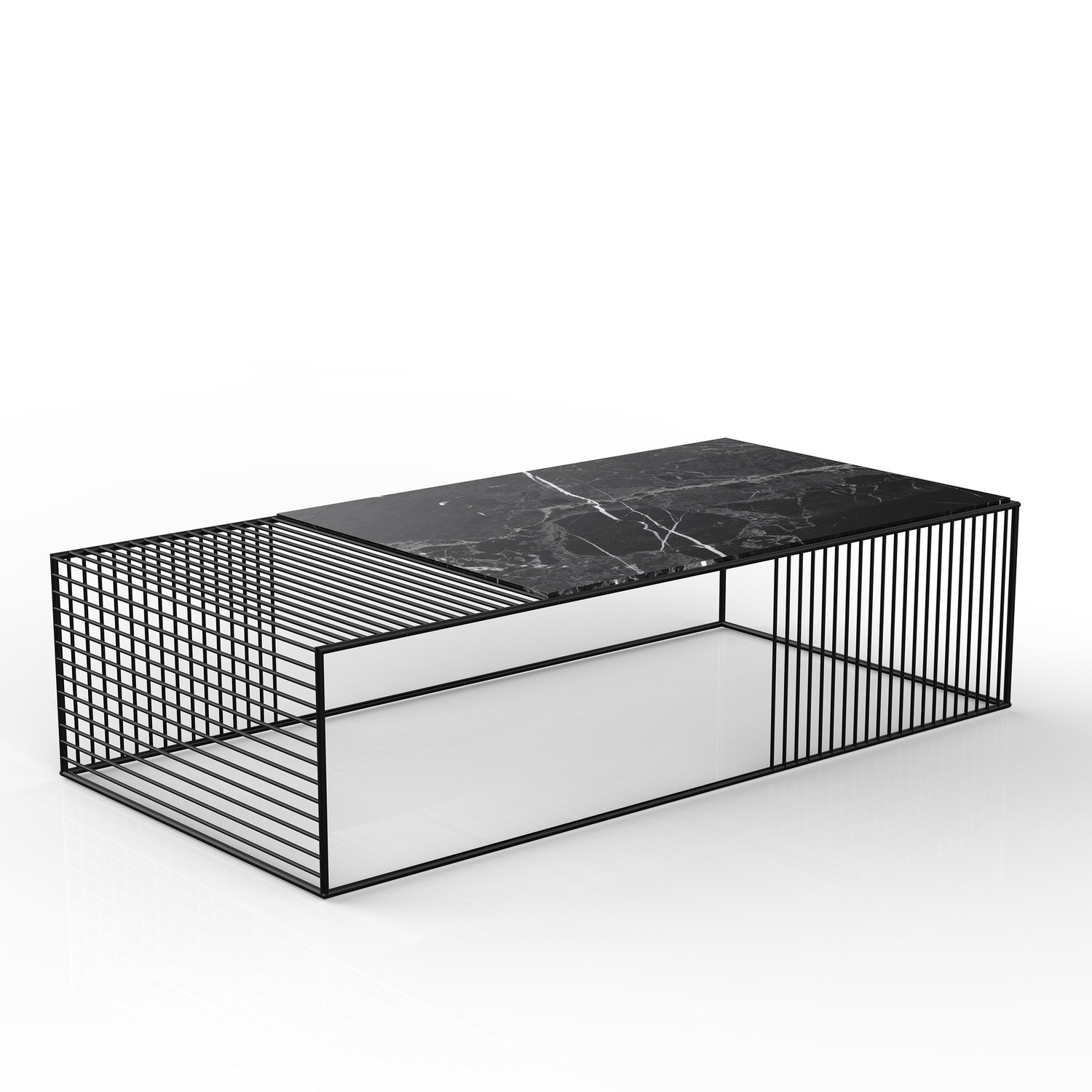 Wire Coffee Table - Large Rectangle — Iacoli & McAllister