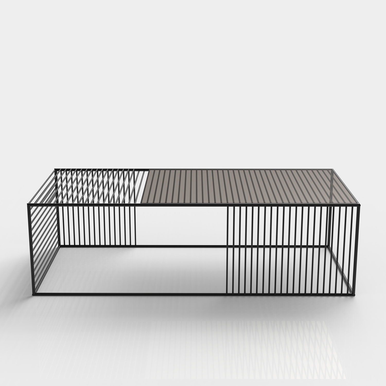 Wire Coffee Table - Small Rectangle — Iacoli & McAllister