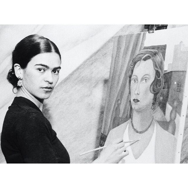 Always an inspiration. HBD, Frida. 🖤