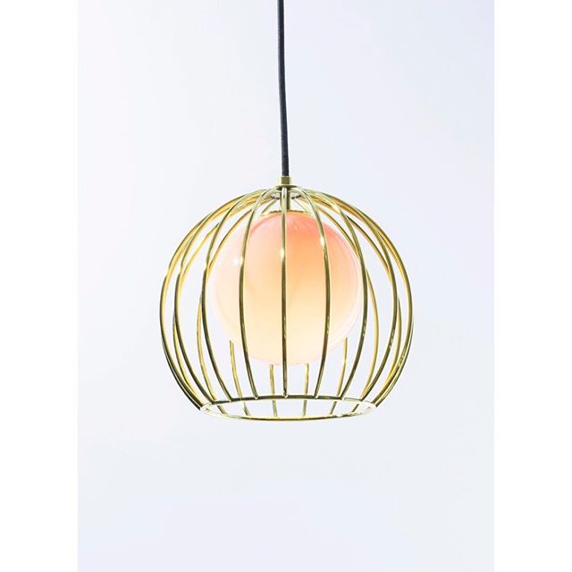 Brass Revati with Blush Globe looking celestial. ✨✨✨ Happy Friday! Photo: @aringstad