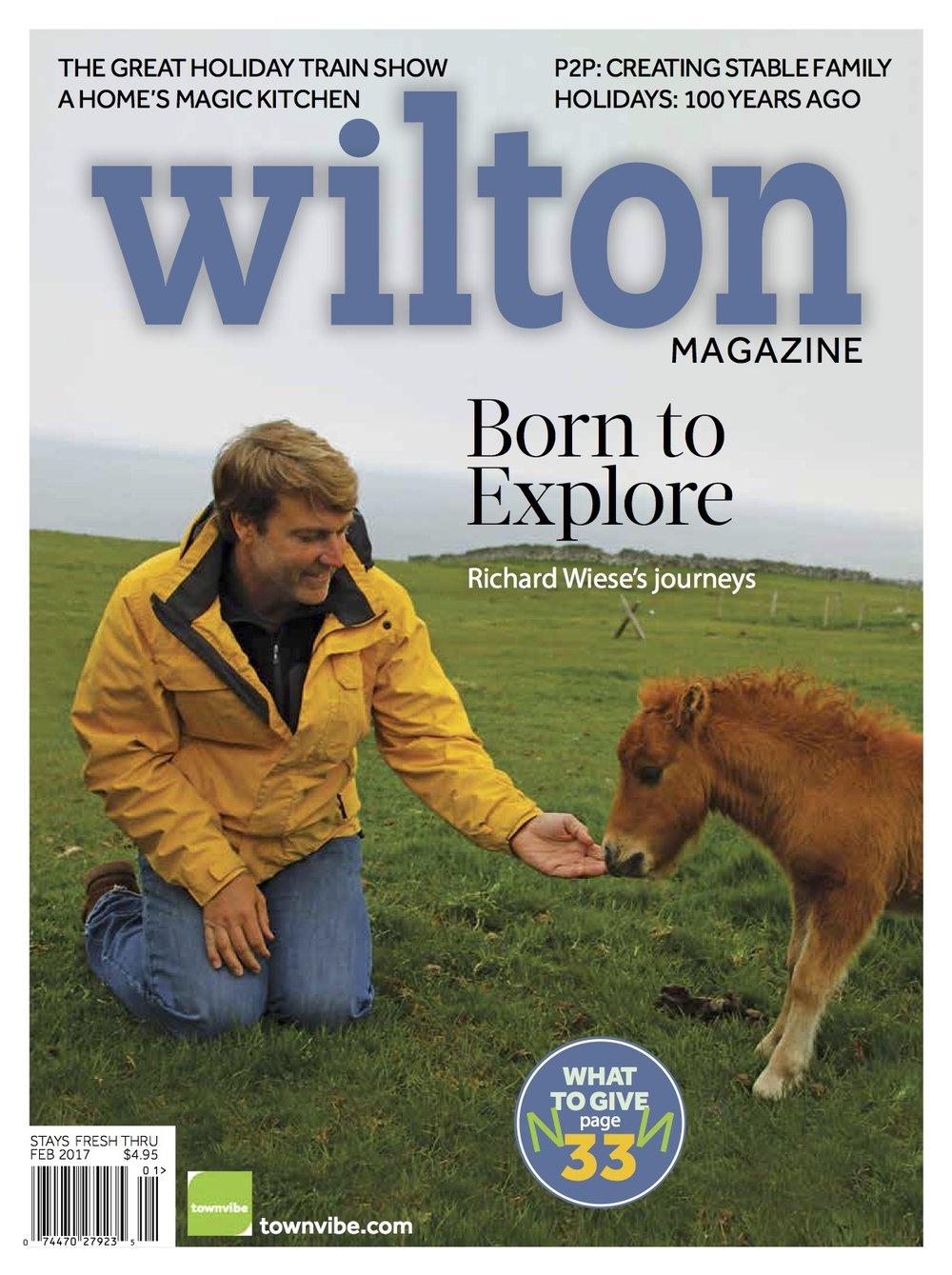 Wilton Magazine, Holiday 2016