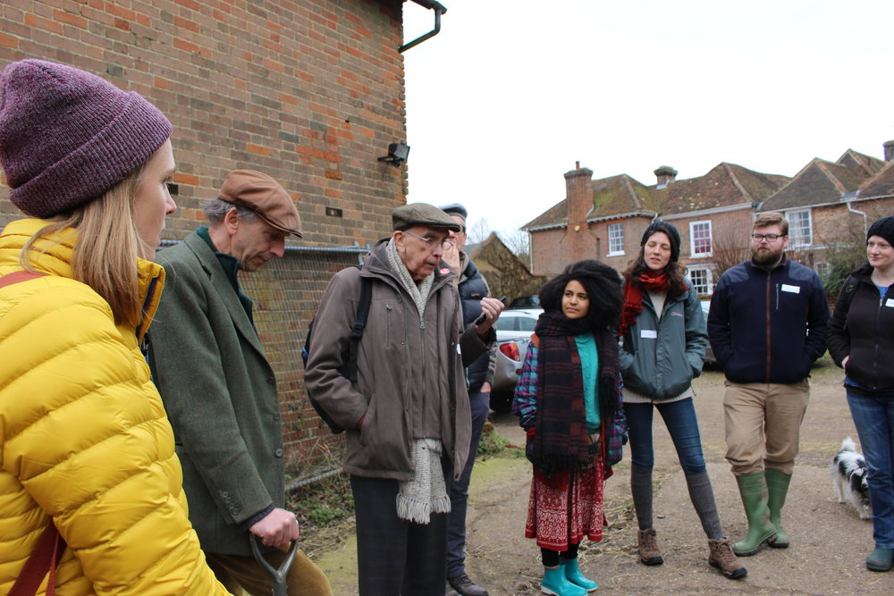 #OurField Weston collective introducing themselves at the first Farm Visit!