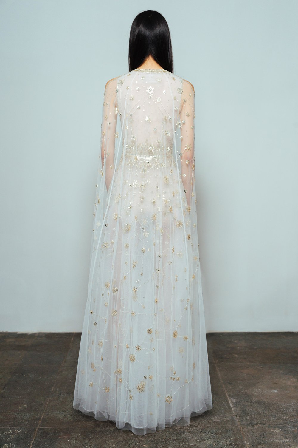CONSTELLATION DRESS — CUCCULELLI SHAHEEN