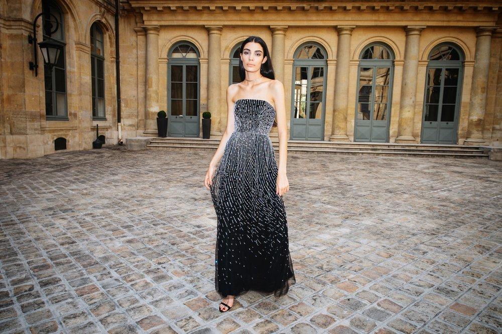 ANDROMEDA BUSTIER DRESS