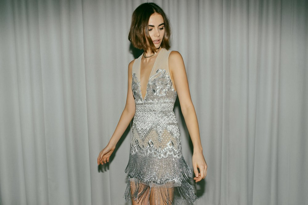 SILVER DREAMWEAVER DRESS