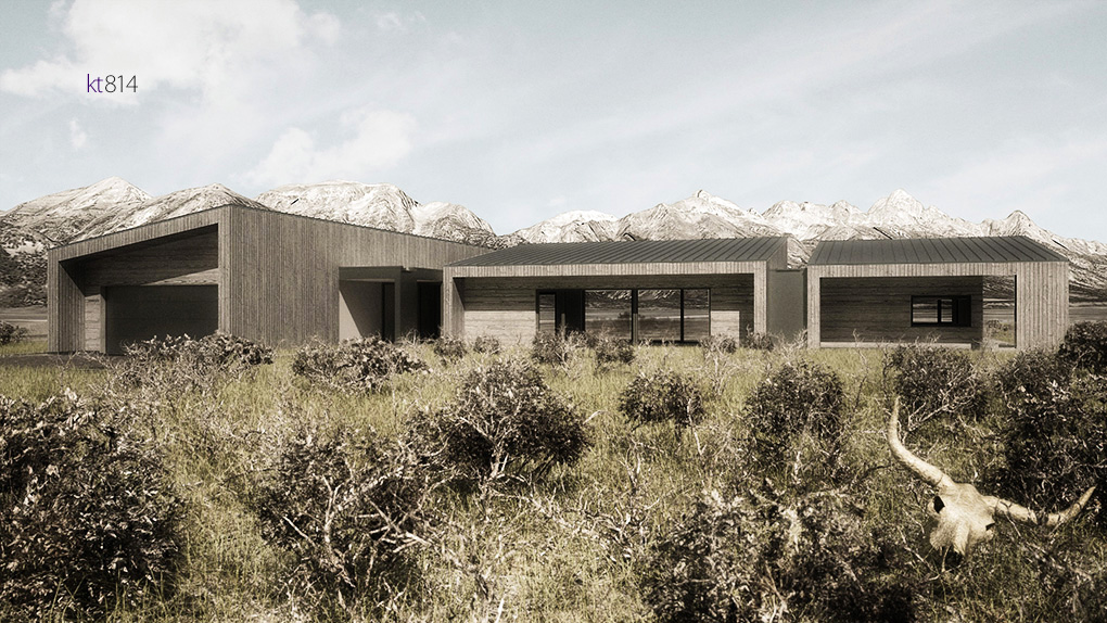 House of Fir_South Render 02_kt814 tag jackson wyoming